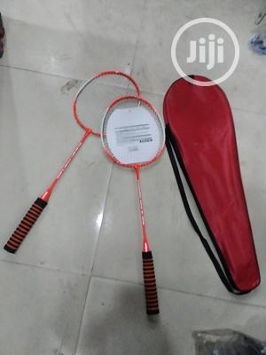 Badminton Racket With Grip Bottom   Sports Equipment for sale in Lagos State, Surulere