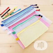 12pcs/Lot Gridding Waterproof Zip Bag Document Pen Filing Pocket Folde   Stationery for sale in Lagos State, Lagos Island