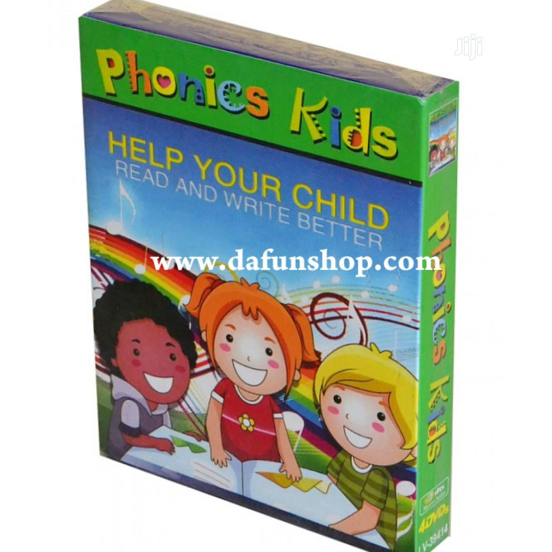 Phonics Kids- Help Your Child Read Better(FREE SHIPPING) | CDs & DVDs for sale in Ido, Oyo State, Nigeria