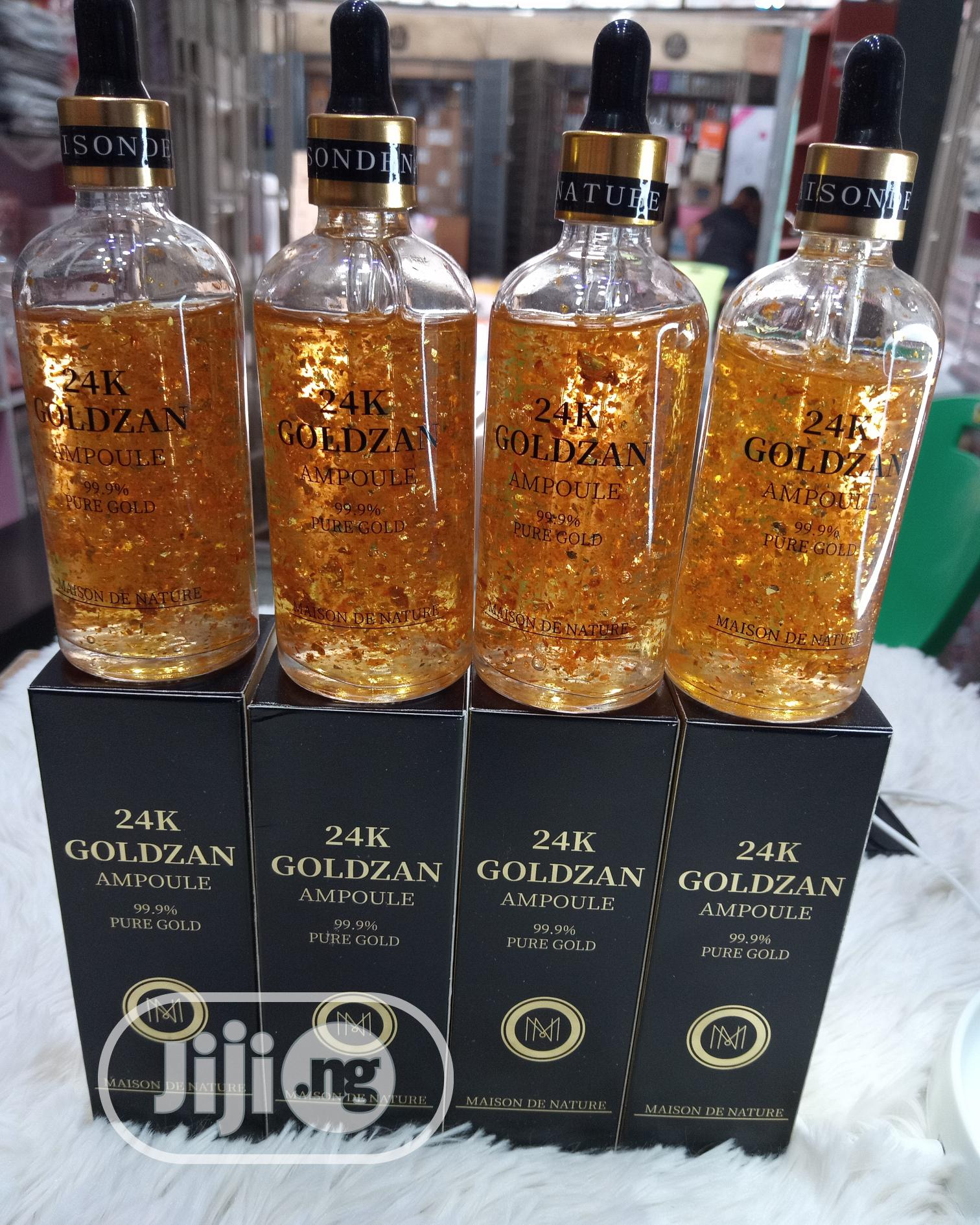 24K Goldzan Serum