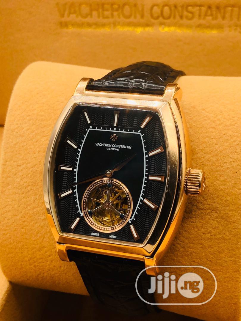 Leather Wrists Watch