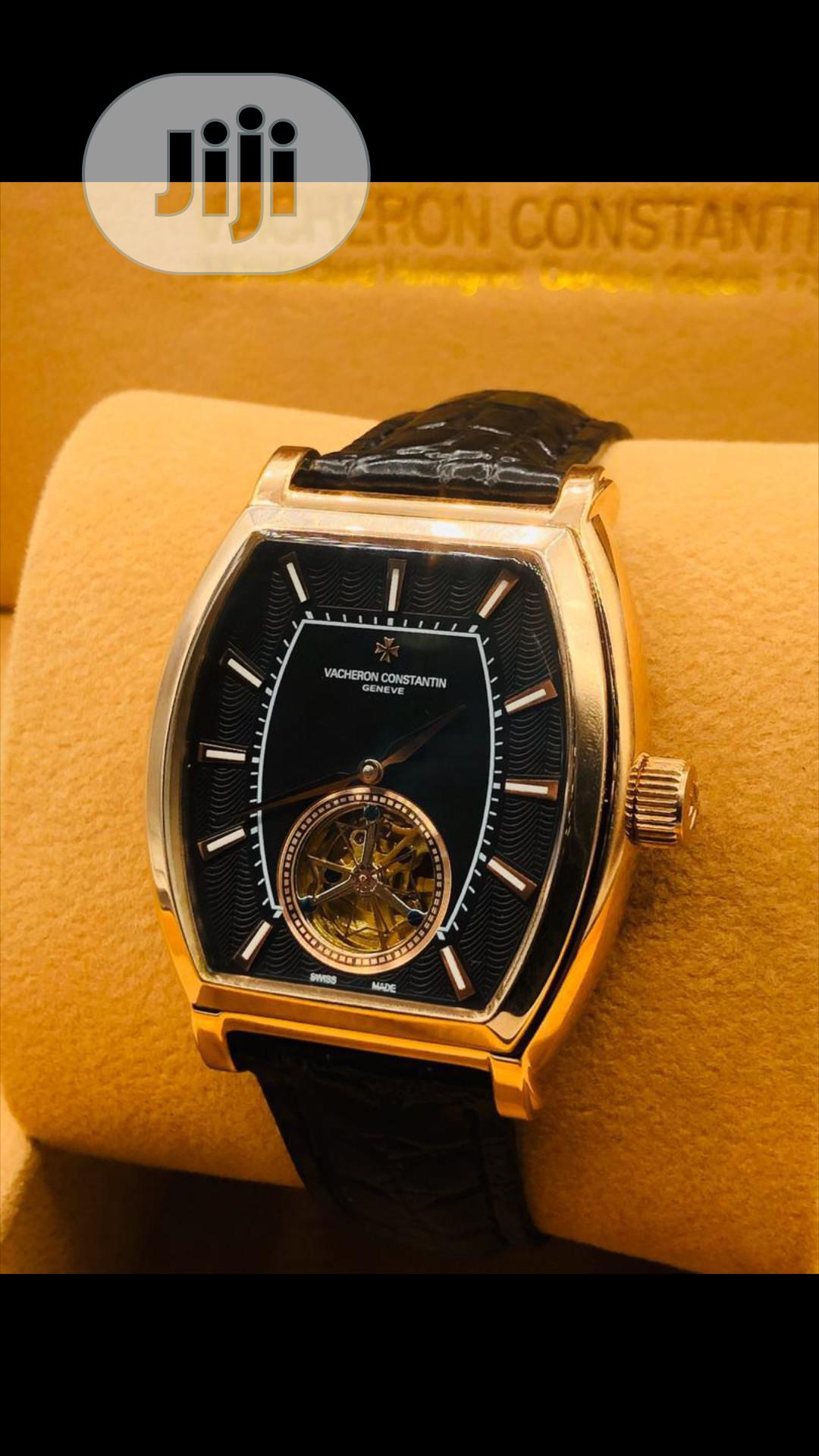 Leather Wrists Watch | Watches for sale in Lagos Island, Lagos State, Nigeria