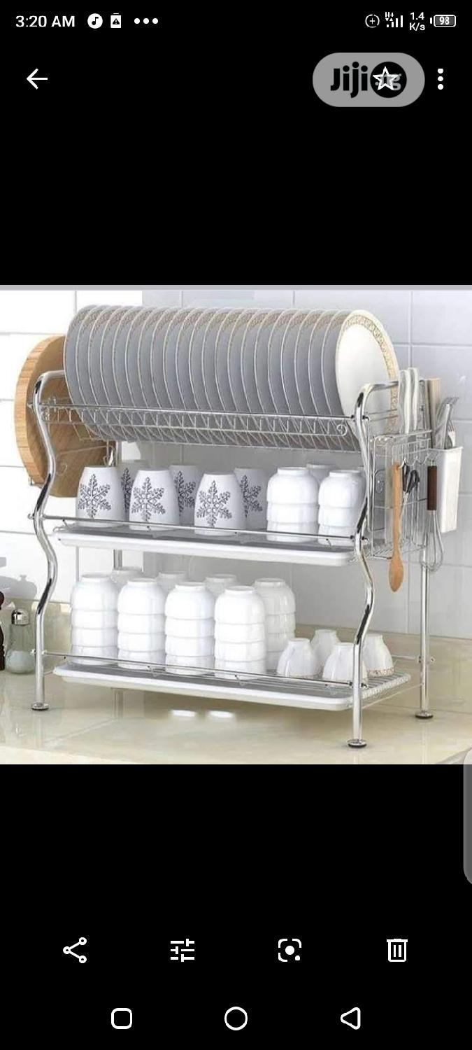 3layer Stainless Plate Rack