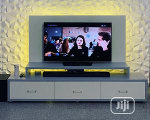 Contemporary TV Stand ,, With LED Lights | Furniture for sale in Lagos State, Ajah