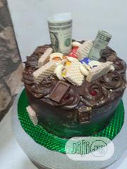 Spotted Chocolate Buttercream Cake | Party, Catering & Event Services for sale in Lagos State, Agege
