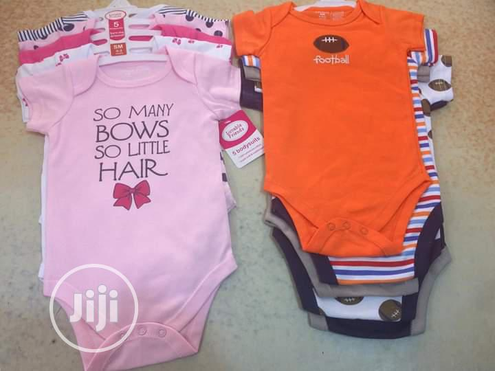 Sleveless And Short Hand 3 In 1 Bodysuit | Children's Clothing for sale in Ajah, Lagos State, Nigeria