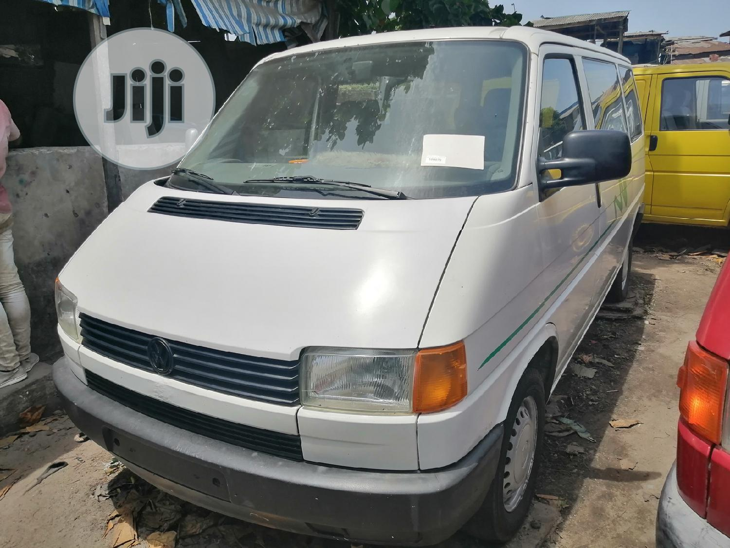 Foreign Used Volkswagen T4 2002 White