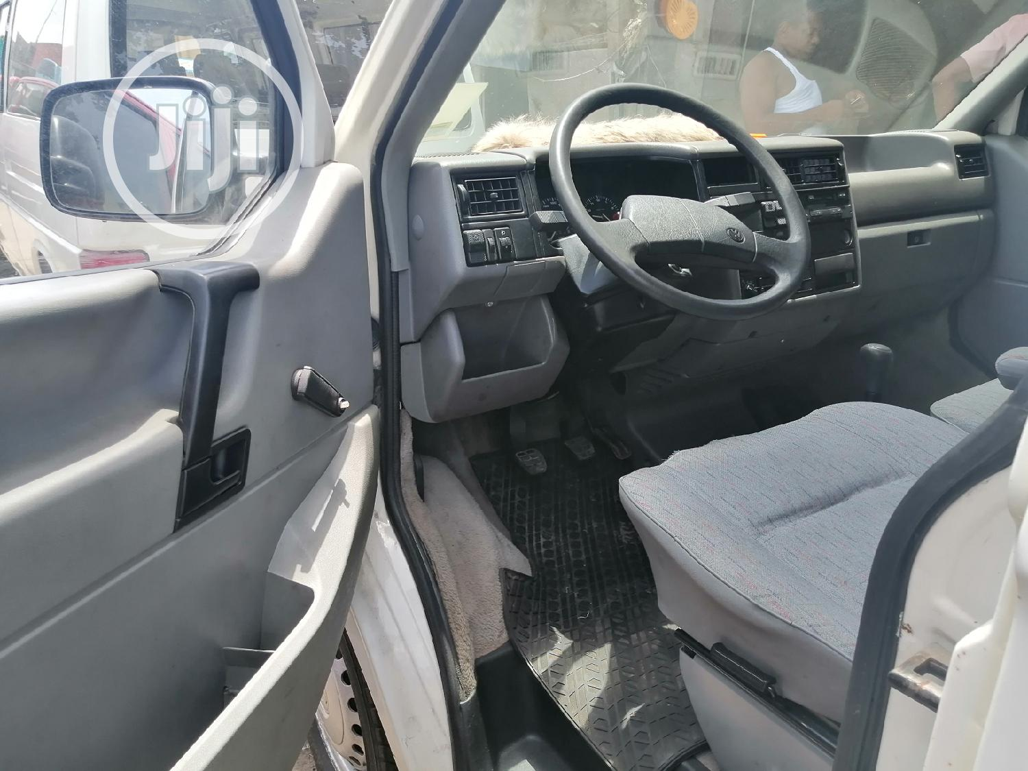 Foreign Used Volkswagen T4 2002 White | Buses & Microbuses for sale in Apapa, Lagos State, Nigeria