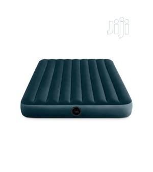 Intex 10in Full Size Inflatable Dura-Beam Midnight Airbed With Pump | Furniture for sale in Lagos State, Ibeju