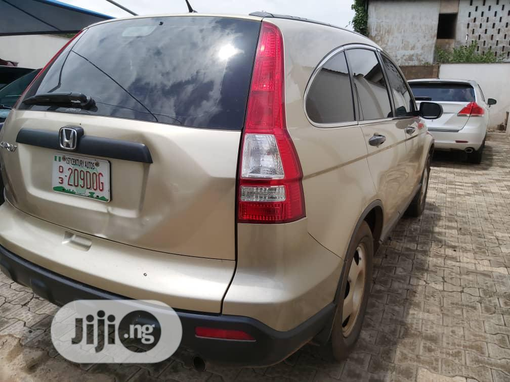 Honda CR-V 2008 Gold | Cars for sale in Abeokuta South, Ogun State, Nigeria