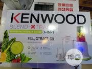 Kenwood Blender-xtract3-in-1 Nutrition Extractor | Kitchen Appliances for sale in Lagos State, Ojo