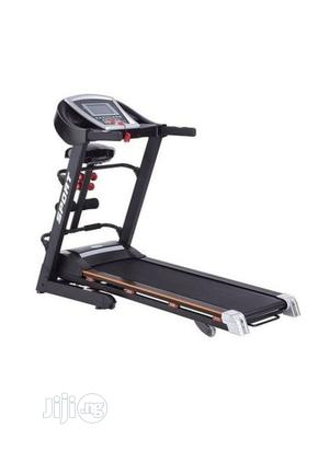 2.5hp Treadmill With Massager,Mp3,Incline And Dumbbell   Sports Equipment for sale in Lagos State, Ikeja