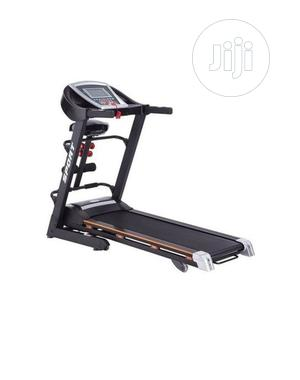 2.5hp Treadmill With Massager,Mp3,Incline And Dumbbell   Sports Equipment for sale in Lagos State, Gbagada