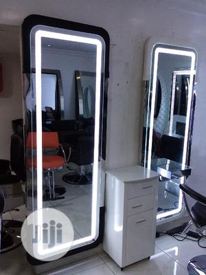 Unique Mirror With Light   Salon Equipment for sale in Lagos State, Surulere