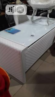 Executive Glass And Leather Table | Furniture for sale in Lagos State, Ojo