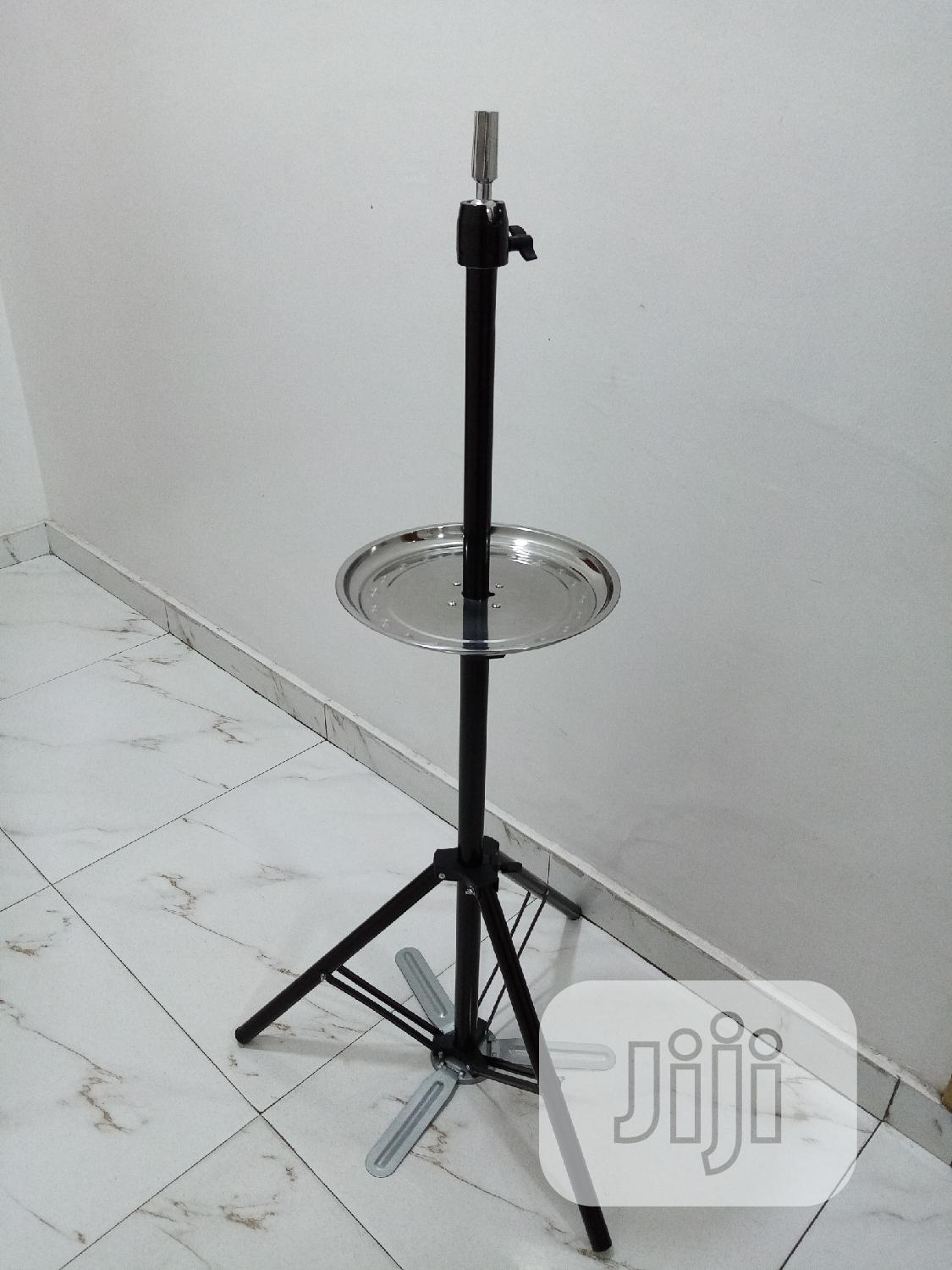 Tripod Mannequin Stand With Storage Plate