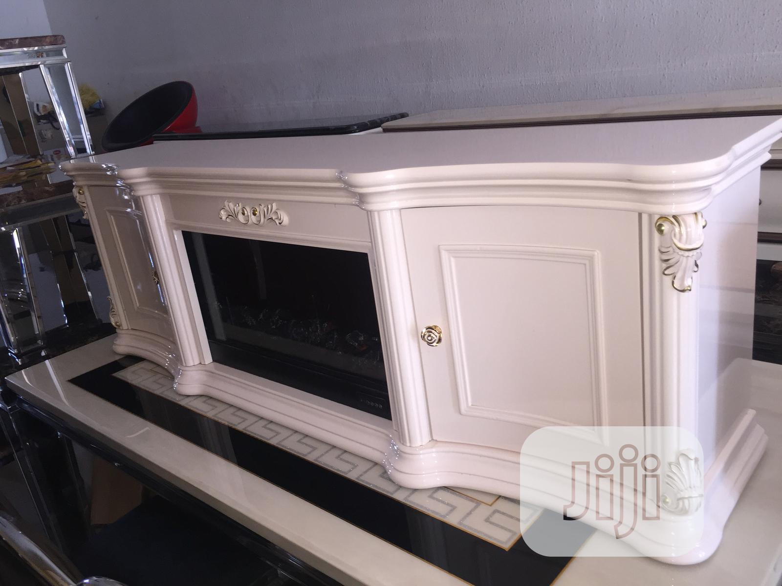 New Durable Imported Fireplace Tv Stand