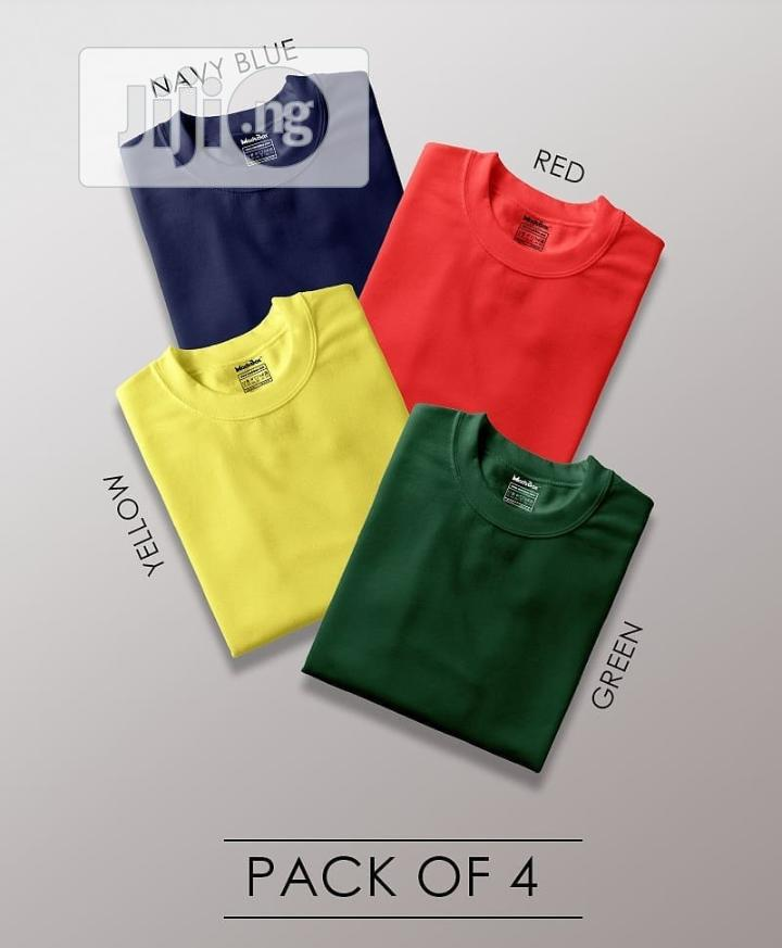 Plain Round Neck T-shirts | Clothing for sale in Yaba, Lagos State, Nigeria