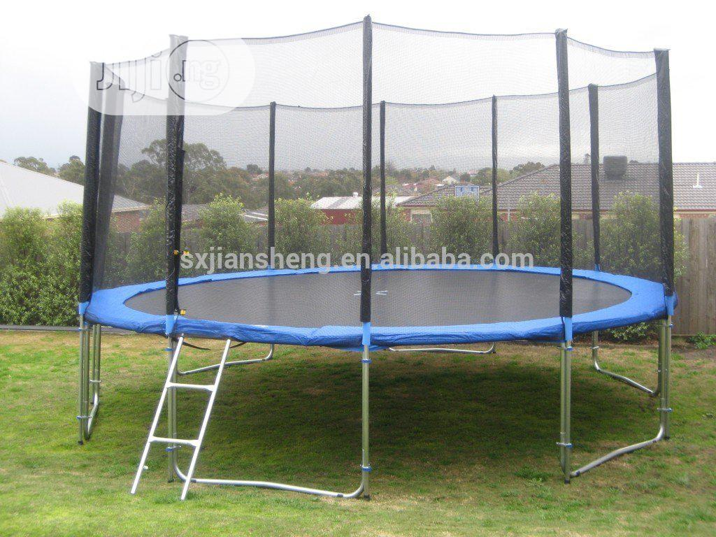 10ft Brand New Trampoline Bouncer With Ladder