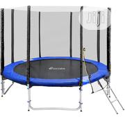 8ft Trampoline With Ladder and Enclosure Zip Close | Sports Equipment for sale in Lagos State, Surulere