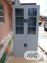 Half Glass and Metal Door Cabinet | Furniture for sale in Lagos State, Ojo