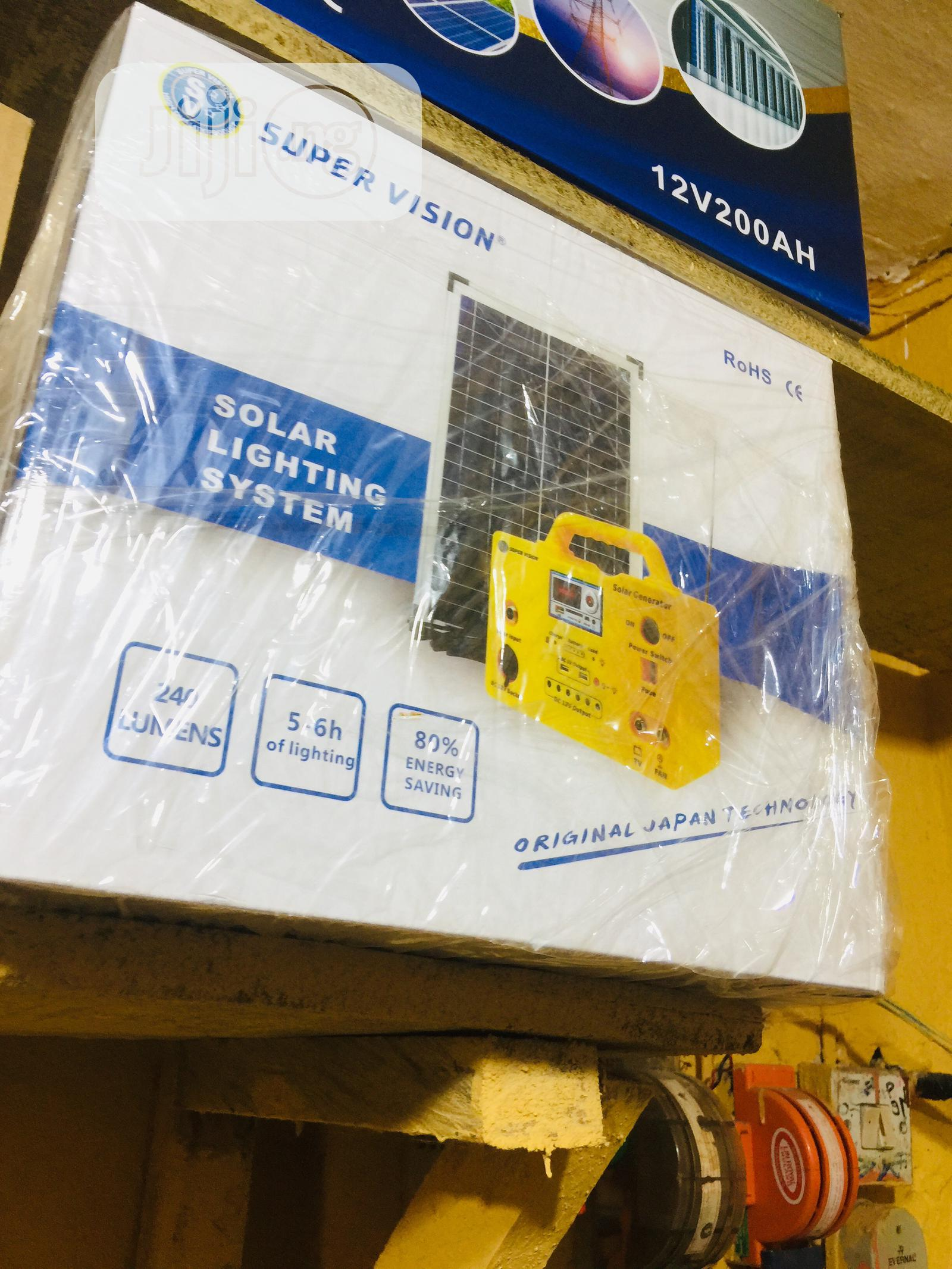 Solar Generator Kit Original | Solar Energy for sale in Ojo, Lagos State, Nigeria