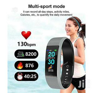 F6 Smart Bracelet Heart Rate Monitor Waterproof Fitness Tracker | Smart Watches & Trackers for sale in Lagos State, Ikeja