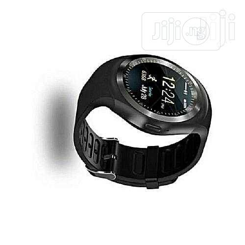 Y1 Bluetooth Smart Watch For Android Smart Wristwatch | Smart Watches & Trackers for sale in Ikeja, Lagos State, Nigeria