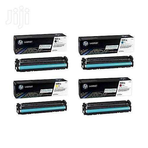 HP Genuine 201a Toner Cartridge (All 4 Colors in One)