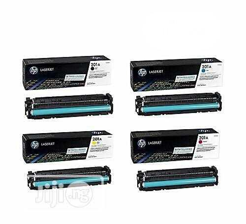 HP Genuine 201a Toner Cartridge (All 4 Colors in One) | Accessories & Supplies for Electronics for sale in Ikeja, Lagos State, Nigeria