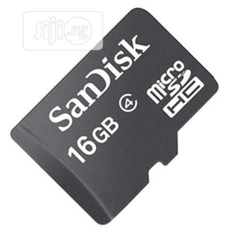16GB Sandisk Memory Card | Accessories for Mobile Phones & Tablets for sale in Enugu, Enugu State, Nigeria