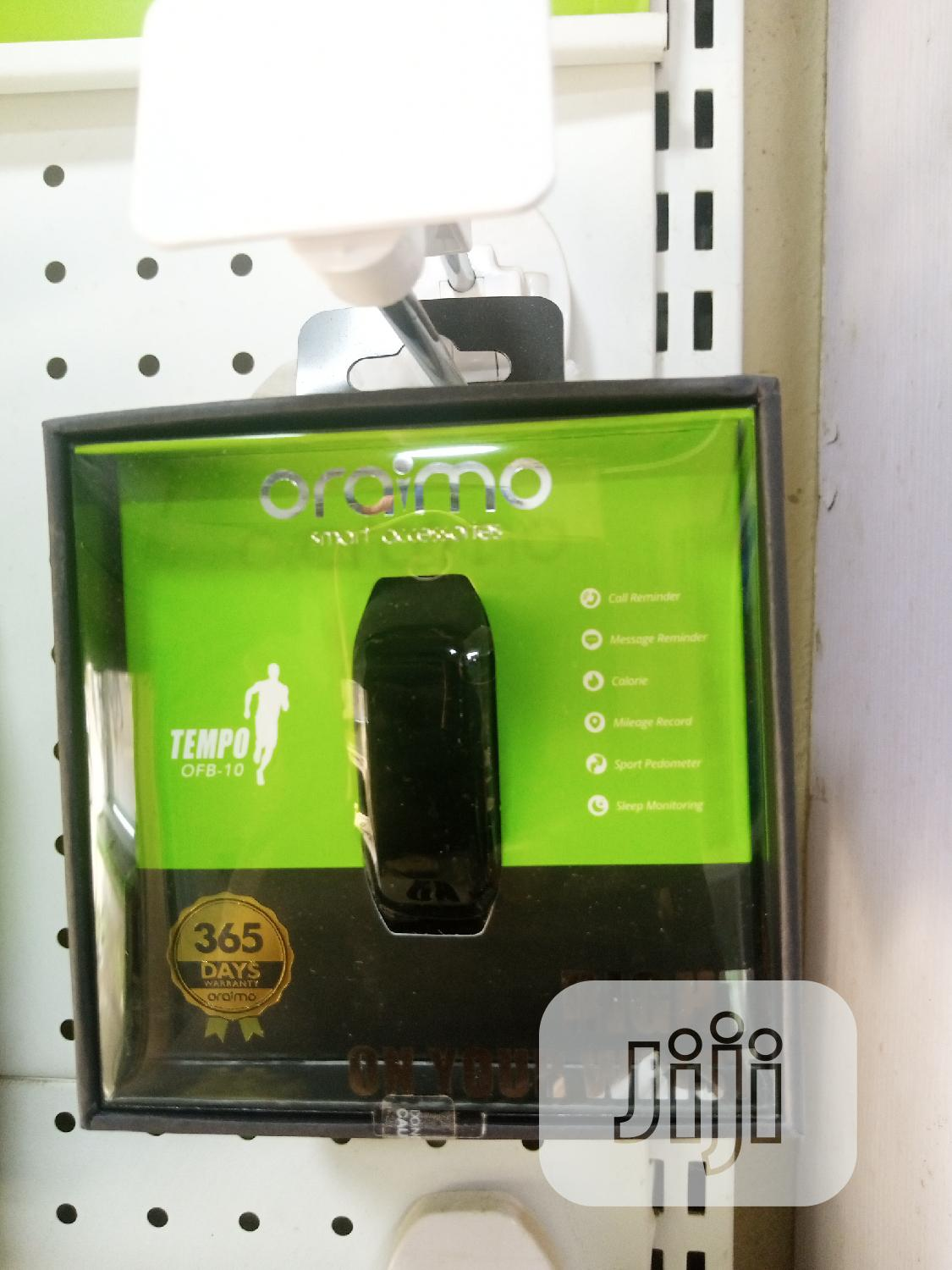 ORAIMO - Sport Bracelet   OFM-10   Smart Watches & Trackers for sale in Ikeja, Lagos State, Nigeria