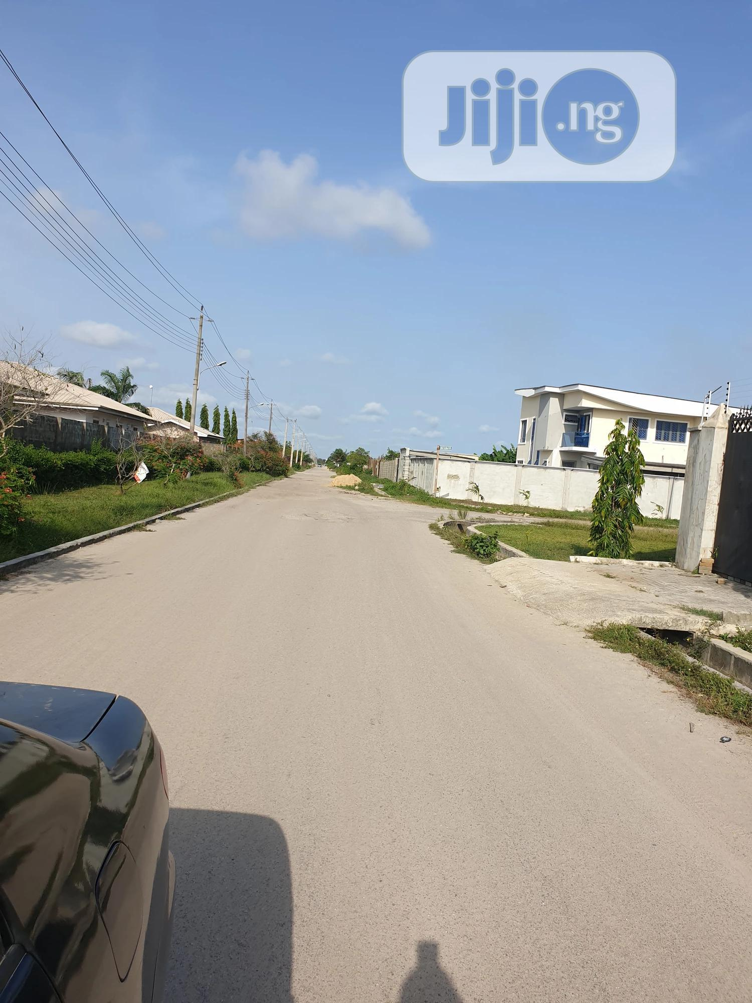Archive: 640sqm Buy and Build Land on a Tarred Road in Abijo GRA for Sal