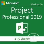 Microsoft Project Professional 2019   Software for sale in Lagos State, Lekki Phase 1