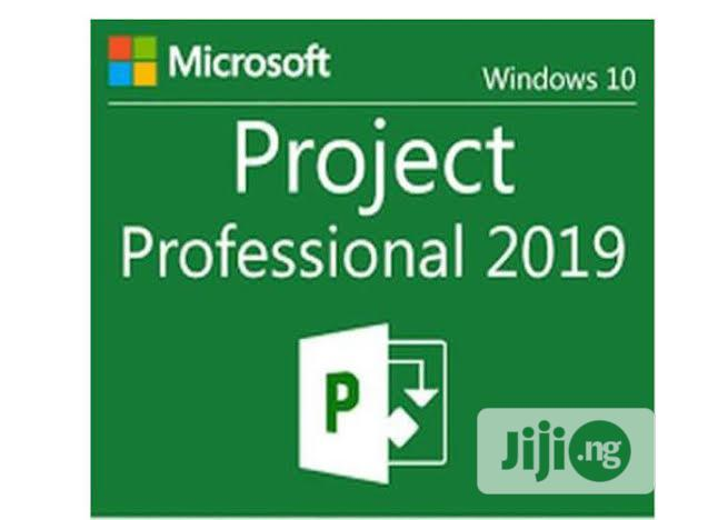 Microsoft Project Professional 2019 | Software for sale in Lekki Phase 1, Lagos State, Nigeria
