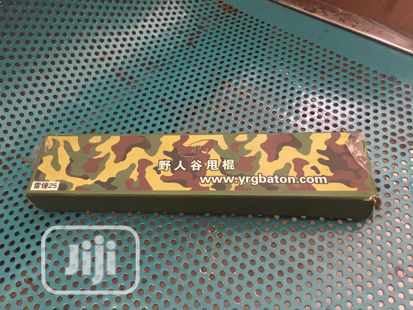 Archive: Iron Rod Self Defense Folding Stick