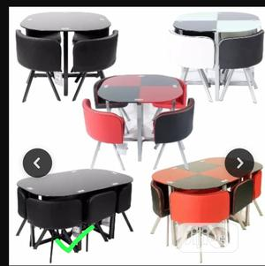 Jackson Unique Design Restaurant and Dining Tables With 4 Chairs   Furniture for sale in Lagos State, Ojo