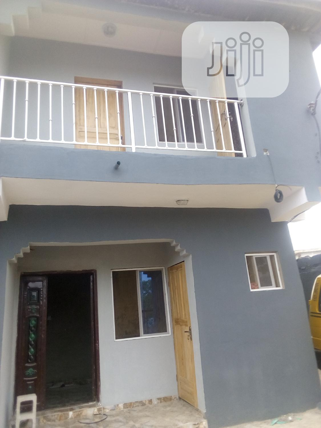 To Let: A Neatly Built 2bed Room For Rent At Cele Egbe, Lagos