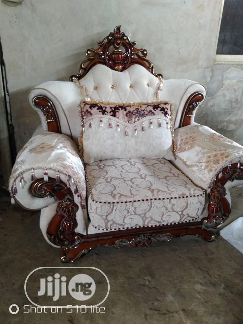 Italian Jackson Unique Royal Sofas Chairs by 7 Seaters.   Furniture for sale in Ajah, Lagos State, Nigeria