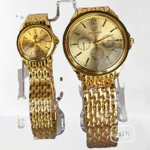 Classic Couples Gold Wrist   Watches for sale in Lagos State, Yaba