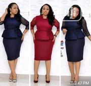 Elegant Skirt N Top Available In Nevy Blue | Clothing for sale in Lagos State, Amuwo-Odofin