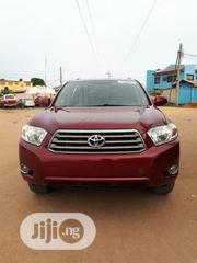 Toyota Highlander 2008 4x4 Red | Cars for sale in Lagos State, Agege