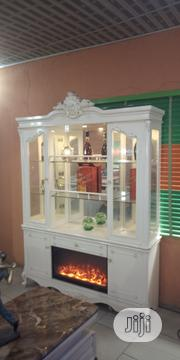 Wine Shelve With Fire Place | Furniture for sale in Lagos State, Ikeja