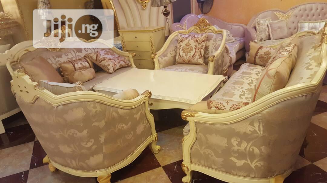 Quality Antique Sofa +Table