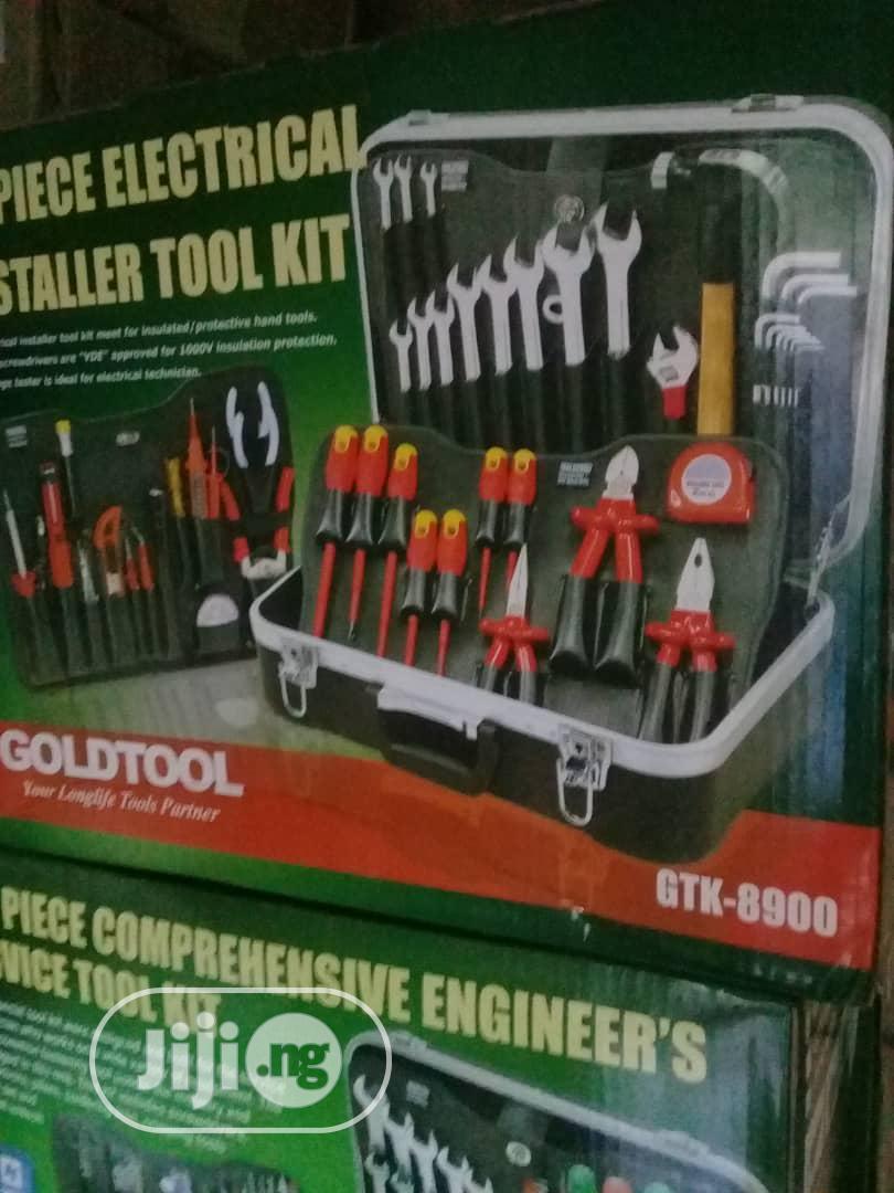 Tools Kit Box Eletricial