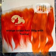 Orange Hair With Frontal | Hair Beauty for sale in Delta State, Oshimili South