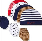 Hudson Baby Cap And Mitten Set | Children's Clothing for sale in Lagos State, Alimosho