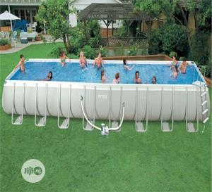 24ft By 12 Ft Intex Rectangular Pool   Sports Equipment for sale in Rivers State, Port-Harcourt