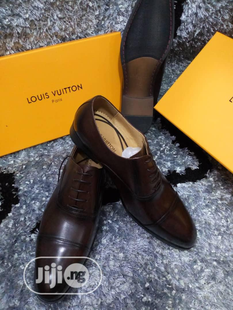 Quality LV Men's Leather Shoes