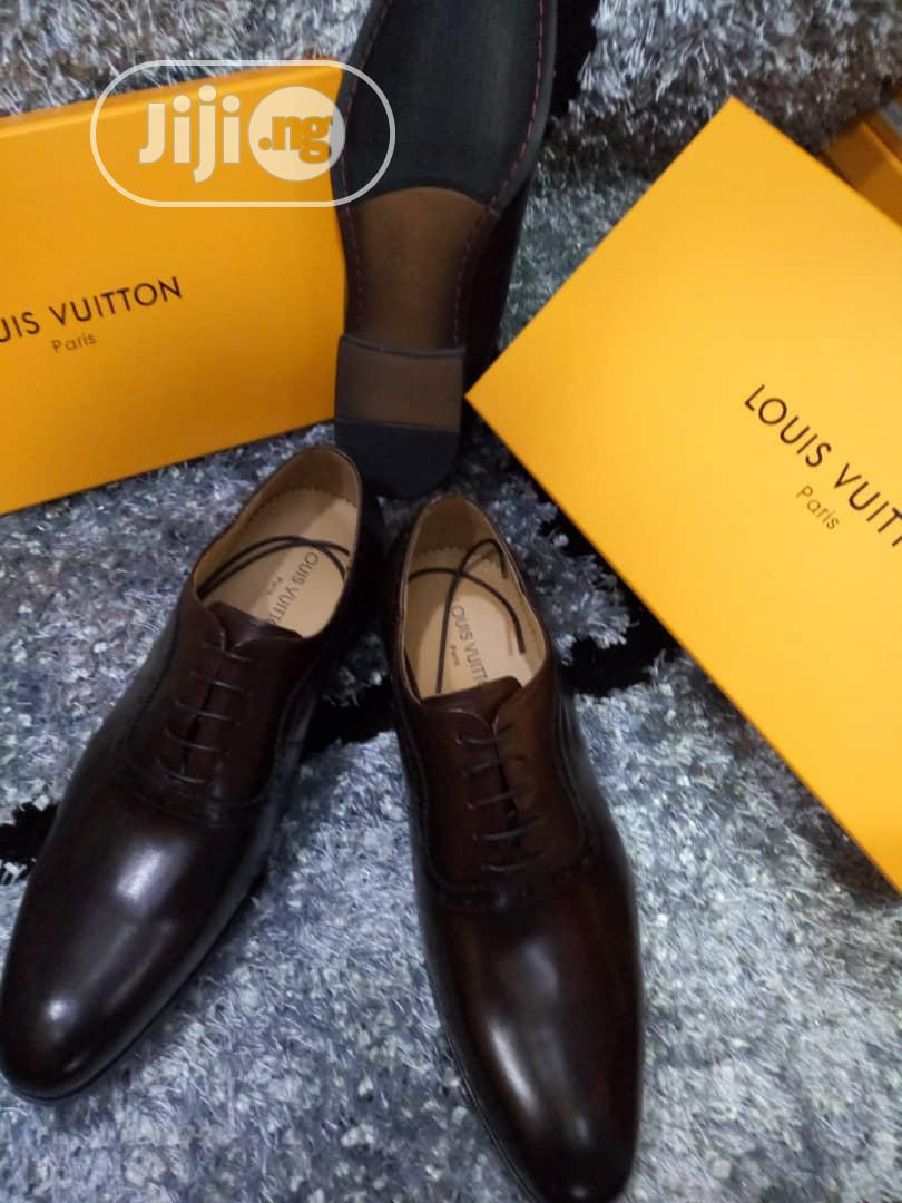 Quality LV Men's Leather Shoes | Shoes for sale in Lagos Island, Lagos State, Nigeria